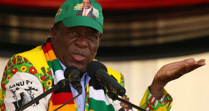 Zimbabwe's Mnangagwa promises fair and open general election