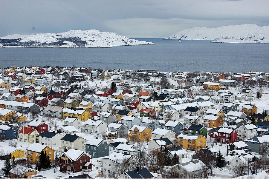 норвегия киркенес сани фото много оказывается прекрасных