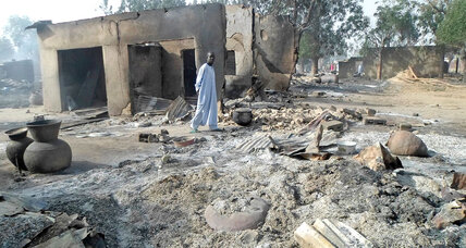 In areas displaced by Boko Haram, the lure of home comes with risk