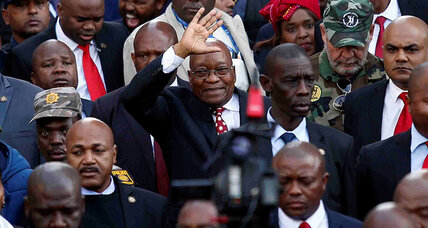 'Hands off our president': Why Zuma's charges haven't nixed his support