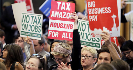 Seattle's tax test: big employers and the social costs of wealth