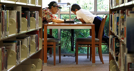 Literacy push: L.A. libraries allow young people to read away their fines