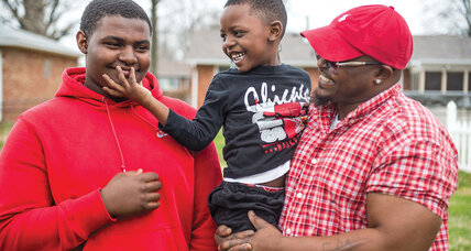 Fathers helping fathers, so kids can thrive