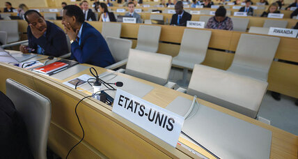 US exits UN rights body: Principled, or another retreat?