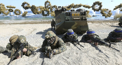 War games 'very provocative'? To S. Korea, so is calling them off
