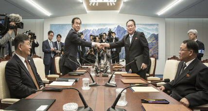 Both Koreas agree to discuss military, family reunions