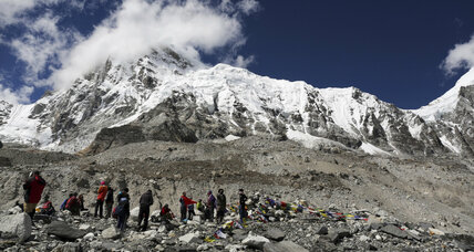 China clears Everest of 9.4 tons of waste