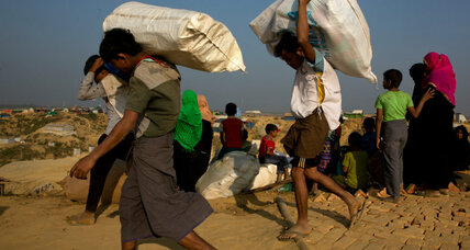 Myanmar, UN sign pact to encourage the return of Rohingya refugees