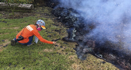 Hawaii volcano spews out lava ... and information for scientists