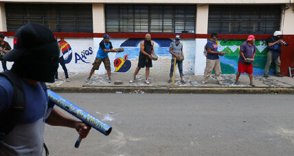 Briefing: Why violence has flared in Nicaragua