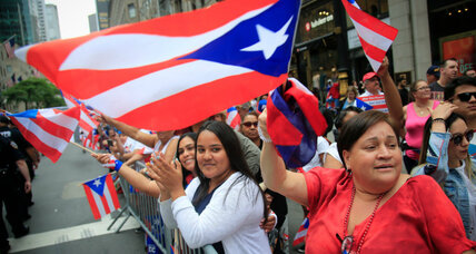 Puerto Rican Day Parade participants celebrate and mourn