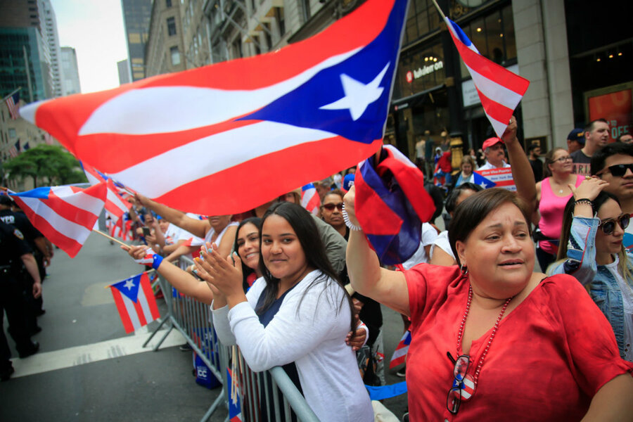 Puerto Rican Day Parade participants celebrate and mourn ...