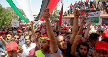 The source of Jordan's river of discontent