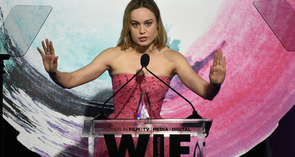 Brie Larson pushes for film criticism diversity at awards show