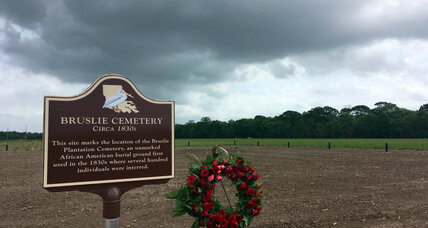 Oil company works to preserve slave gravesite found on its land