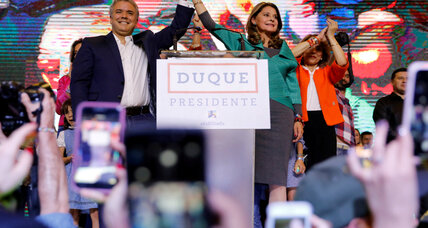 Colombia's president-elect appeals for unity after runoff election