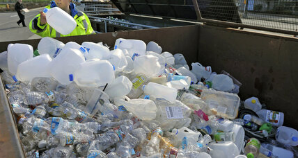 Plastic waste piles up globally due to China import ban
