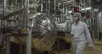 Iranian nuclear enrichment signals resistance to US sanctions