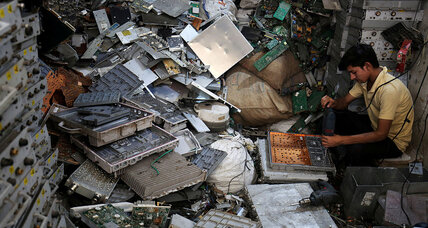 'E-waste': Getting grip on a growing global problem