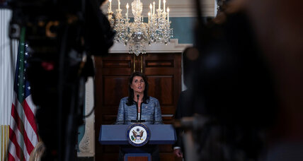 US withdrawal from the UN Human Rights Council puts funding in doubt, Glimmers of hope for refugees, UN's resolution on Palestinians was mostly a w...