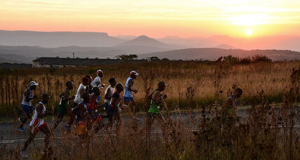 South Africa's unlikely ultramarathoner helps others cross the finish line