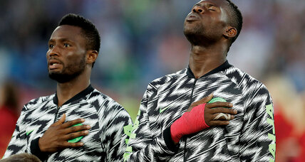 Meanwhile in ... Russia, some World Cup 2018 observers are calling Nigeria 'the coolest team ever'