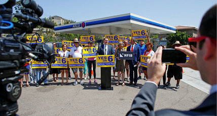 California GOP looks for inroads by taking down a gas tax