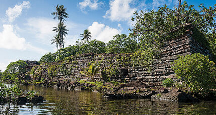 Meanwhile in ... Micronesia, officials are looking for help in preserving a mysterious ruin