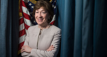 Can the center hold? Susan Collins and the high wire act of being a moderate