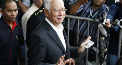 Former Malaysian leader arrested for theft, money laundering