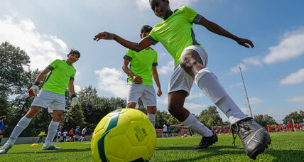 Refugees in Ireland find their footing with soccer tournament