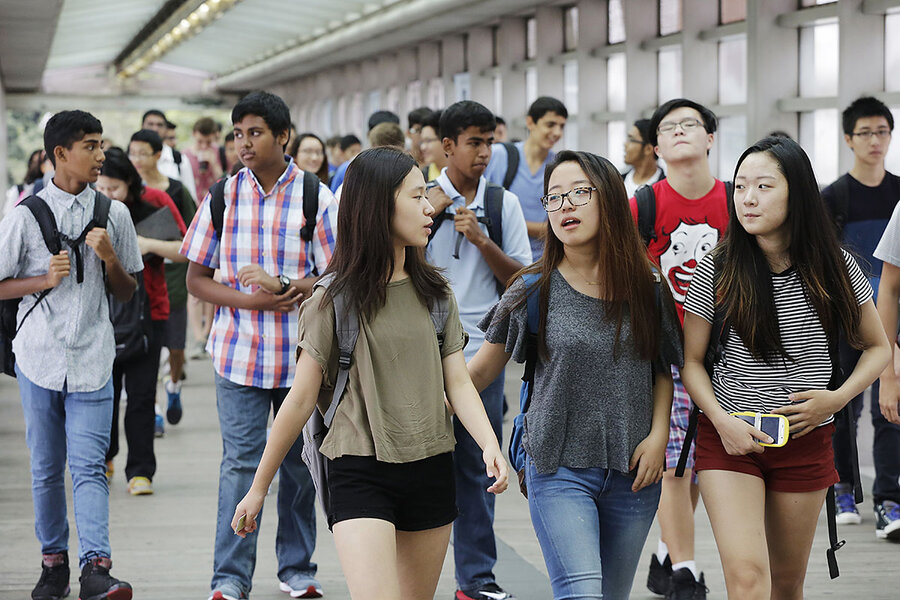 www.csmonitor.com: 'Keep the test!' A debate flares over exam-based public high schools.