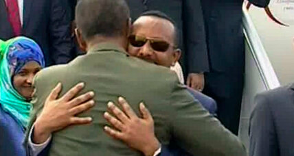 Ethiopia and Eritrea unite after ending 20-year border war