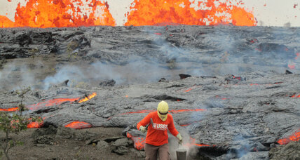Scientists brave dangers studying active Hawaii volcano