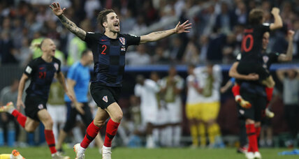 Croatia will make its first-ever appearance in World Cup final