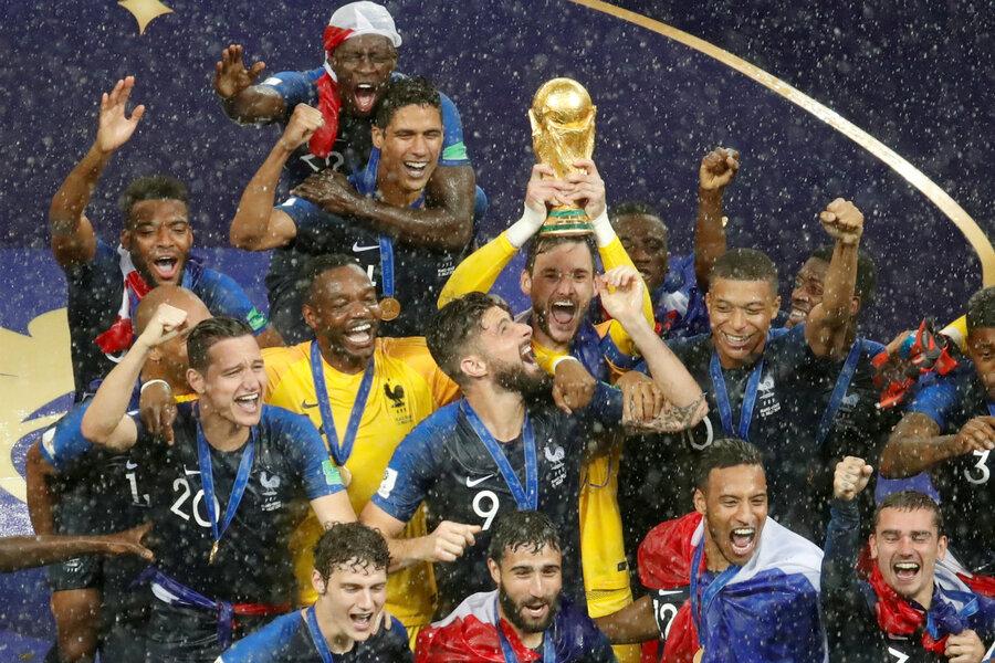 Les Bleus are a mini-UN of soccer talent - CSMonitor.com