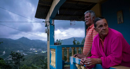 Lights slowly come on for Puerto Ricans in rural areas