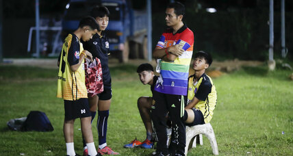 Three rescued Thai boys and coach live in stateless limbo
