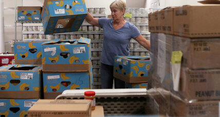 Mobile food banks roll through rural US transforming food deserts