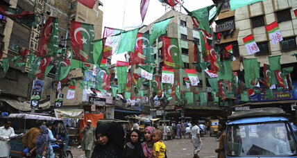 After decades of fear, political parties openly campaign in Pakistan