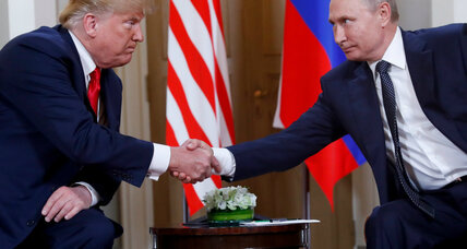 After Helsinki fallout, Trump invites Putin to Washington