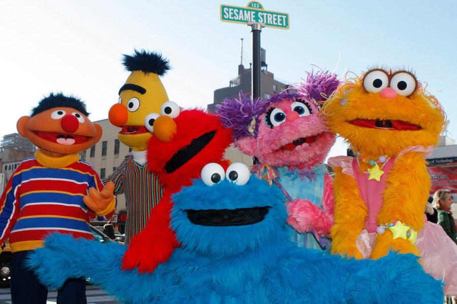 Big Bird and Elmo are taking Sesame Street into the classroom