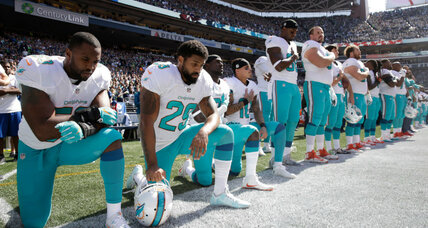NFL hits the brakes on national anthem policy