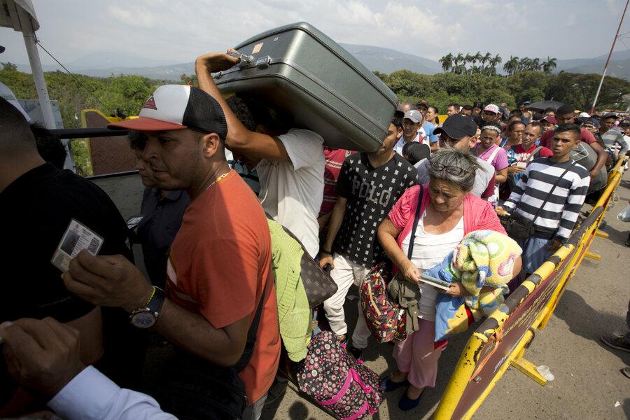 Venezuelan Scientist Offers Reality >> Venezuelan Migrants Bring Trinidad S Flawed Refugee Policy To Light