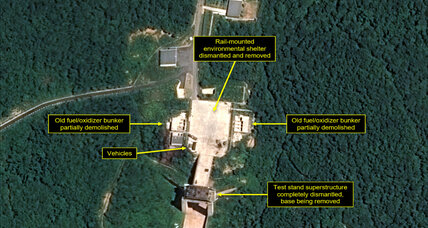 New images show North Korea dismantling missile facilities