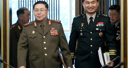 Korean generals discuss easing decades-long military standoff