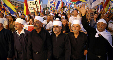 In Israel, tiny Druze minority galvanizes opposition to nation-state law