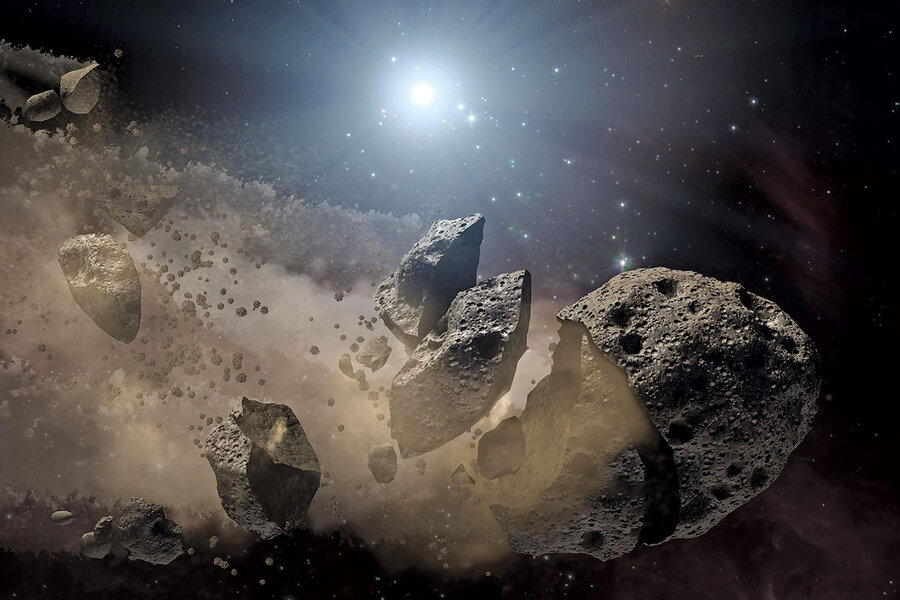 Chasing asteroids: Dual missions sniff out clues to solar system's past