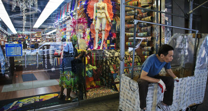 New York's shrinking garment district hangs on by a thread