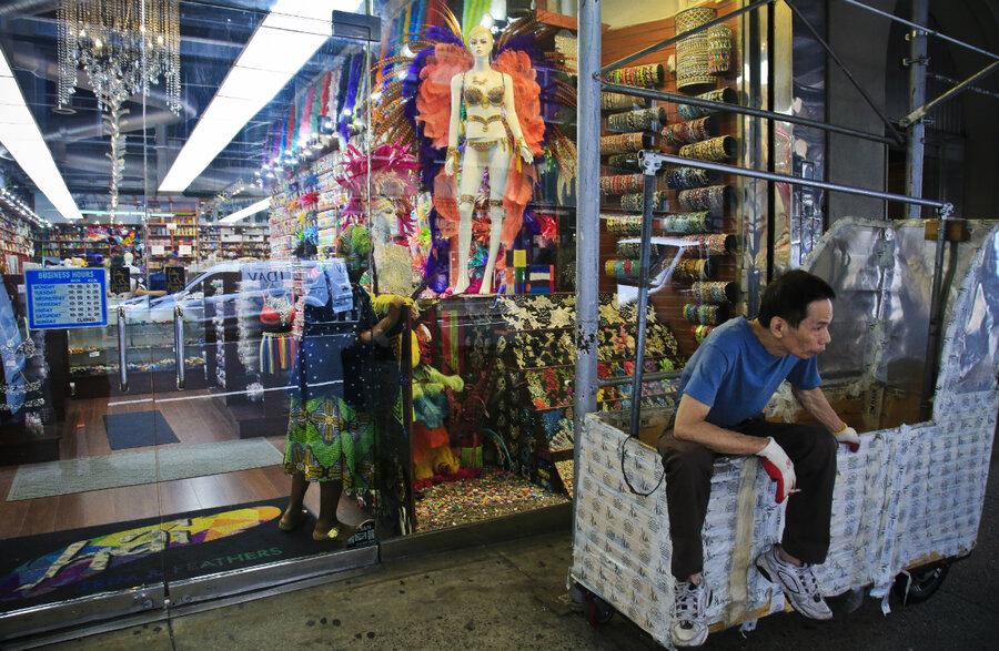 New York S Shrinking Garment District